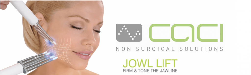 CACI Jowl lift at Cheshire Lasers