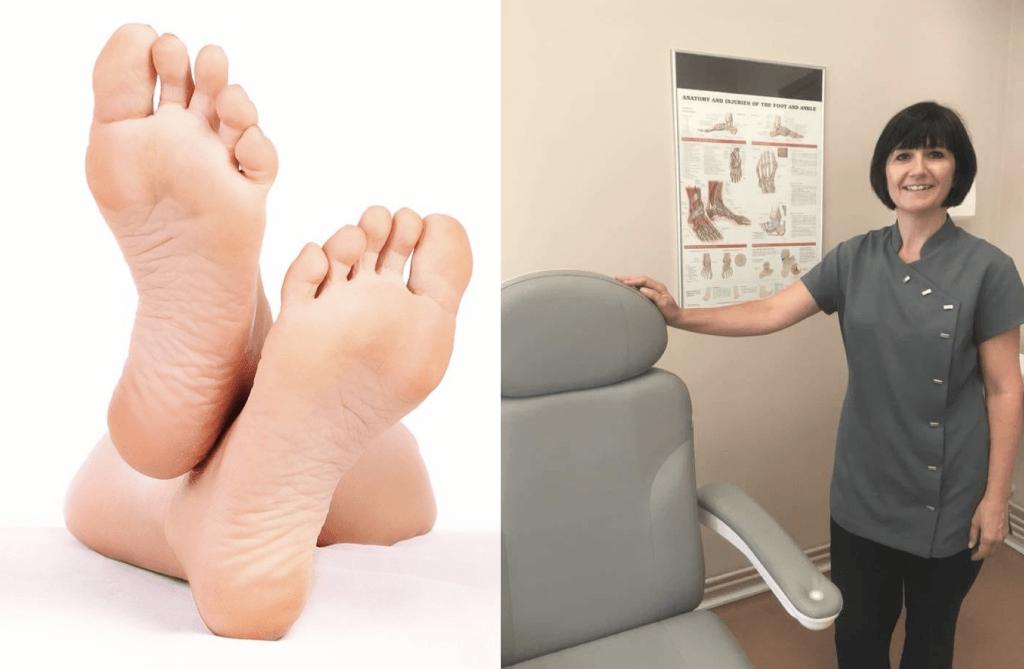 Samantha Hatton podiatrist Cheshire