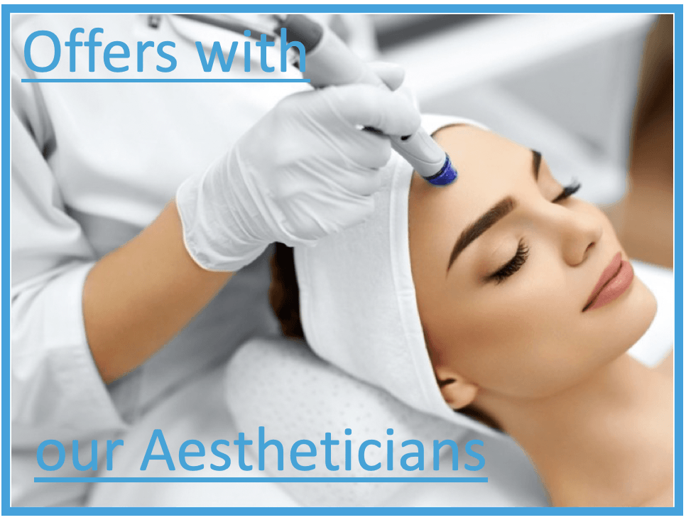 offers with Cheshire Lasers Aestheticians