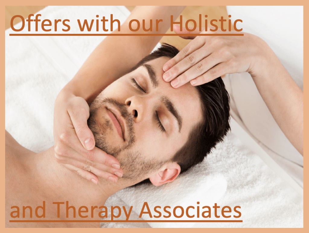 Special Offers for Holistic Therapies, Alternative Therapies and Mental Health Therapies