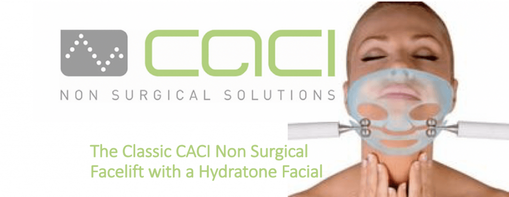 The Classic CACI Non Surgical Facelift with a Hydratone Facial at Cheshire Lasers middlewich
