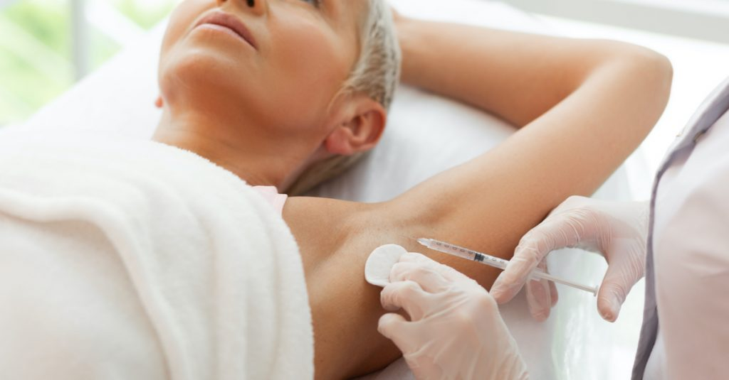 hyperhydrosis treatment in Cheshire