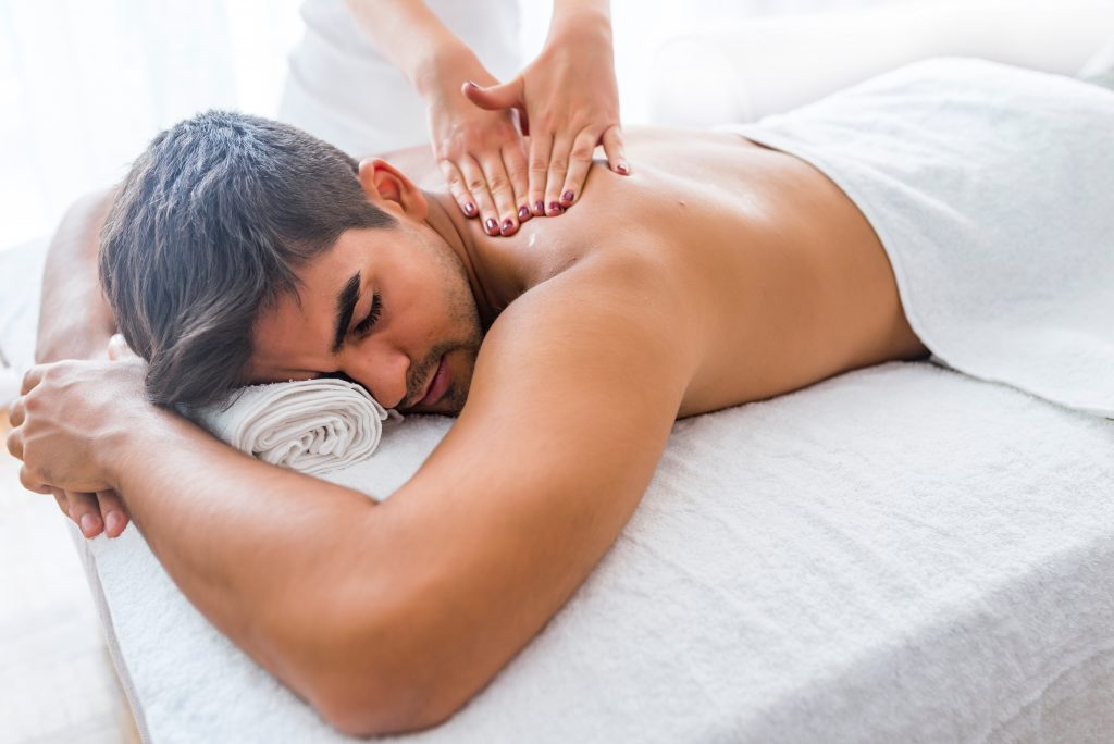 body and back massage treatments Middlewich Cheshire