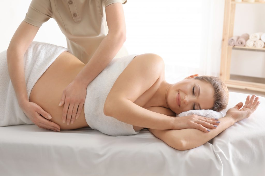 Mum to be pregnancy massage treatments Middlewich Cheshire